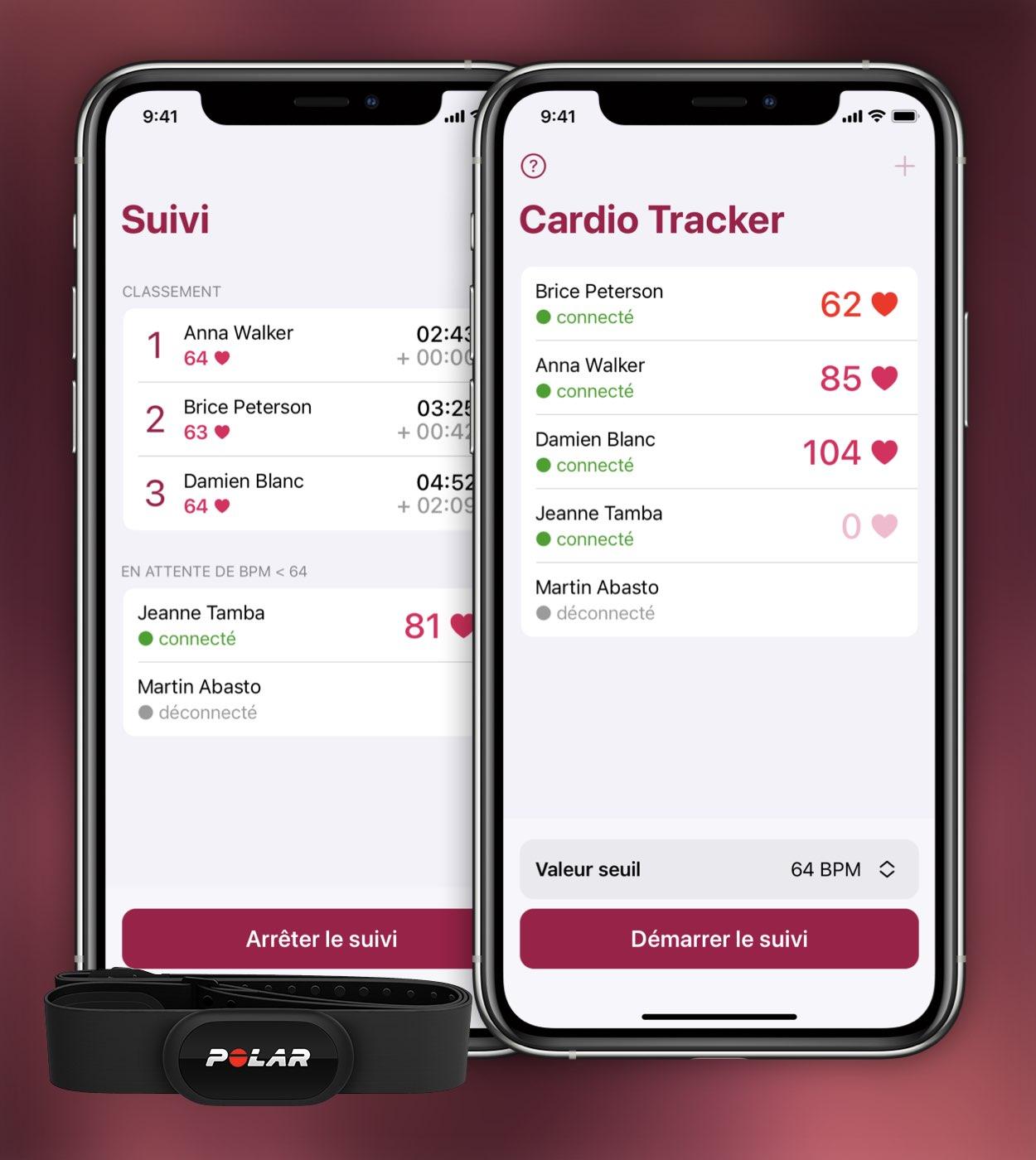 Cardio Tracker