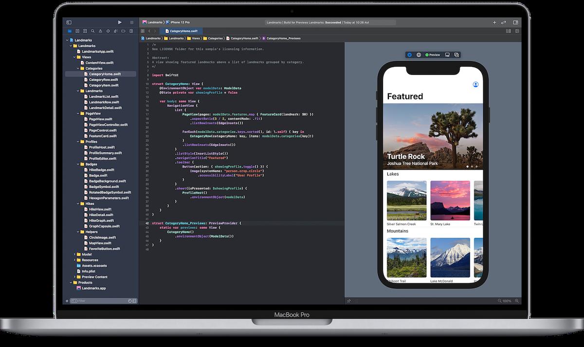 Image de Créer des interfaces avec SwiftUI